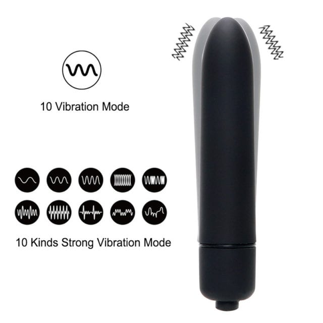 7 Colors 10 Speed Mini Bullet Vibrator for Women Waterproof Clitoris Stimulator Dildo Vibrator Sex Toys for Woman Sex Products