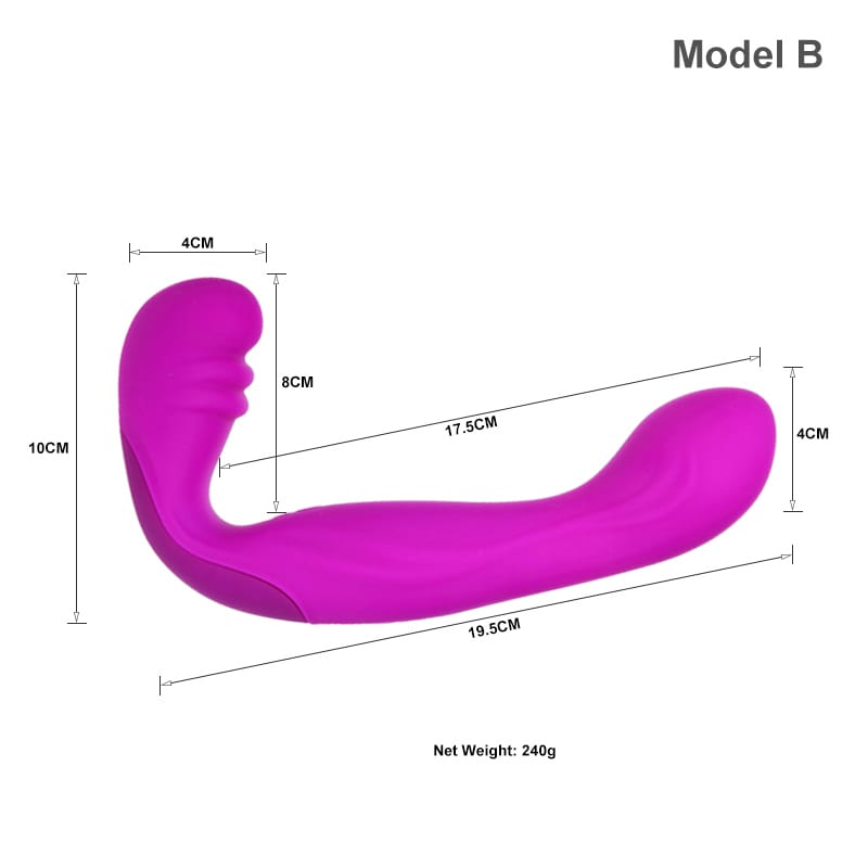 Strapless Strapon Dildo Dual Vibrators Big Anal Plug Penis Rechargeable Lesbian Strap On Double Ended Dildos Sex Toys for Woman