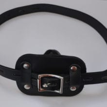 Leather Harness Restraint,Bondage Gag,Sex Mouth Penis Glans Gag,Silicone Dildo Gag,Sex Toys For Couple Sex Products