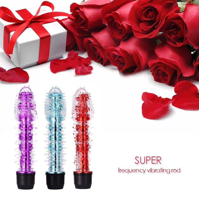 Multi-Speed Vibrating Jelly Dildo Waterproof G Spot Vibrator Penis Massager clitoris stimulator Sex Product Sex toys For Woman