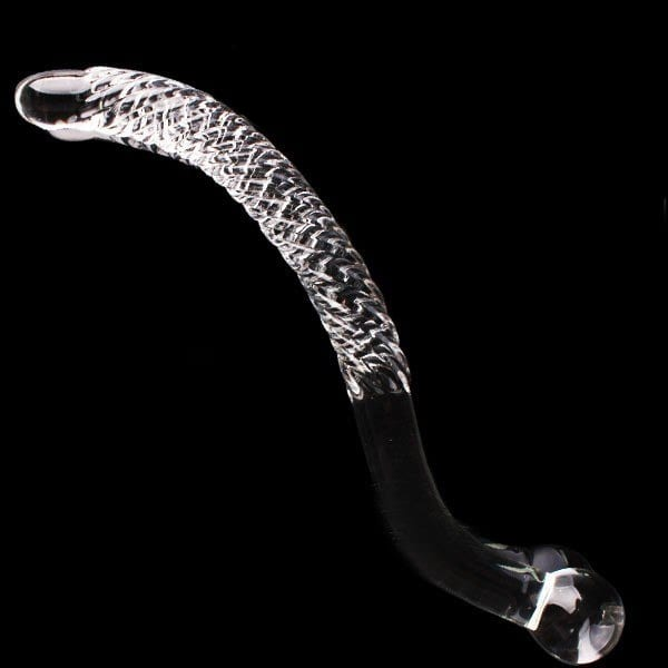 250*30mm glass dildo Female masturbation Clitoral stimulation double headed dildo double dong fake penis sex toys for women