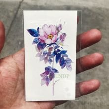 24 Flower Designs Waterproof Temporary Tattoo Sticker l