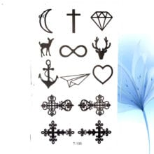 Little Gadgets Infinity Water Transfer Tattoo For Men