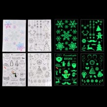Luminous Glow Temporary Tattoos Stickers