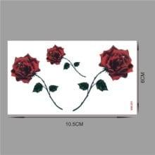 Rose Blossom Waterproof Temporary Tattoo Sticker