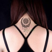 Waterproof Temporary Tattoo ancient Classical totem star tatto stickers flash tatoo fake tattoos  for girl men