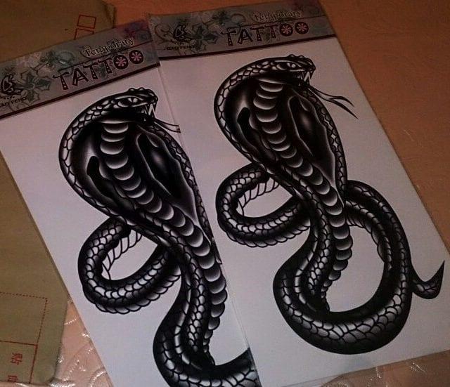 27 designs Waterproof Temporary Tattoo Sticker tiger dragon hawk snake for men tatto stickers flash tatoo fake tattoos Body Art