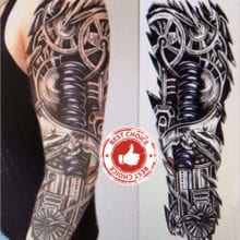 Sticker Full Arm Waterproof Temporary Tattoo