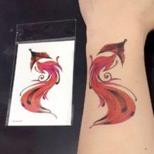 24 Designs Waterproof Temporary Tattoo Sticker