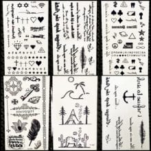 Summer Style Temporary Tattoo Stickers For Boys