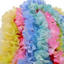 1 m Silk Hydrangea Wisteria Flower String For Wedding Wall Decor