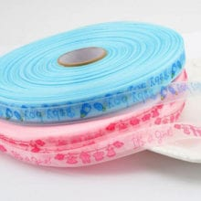 5 m Hyaline Satin Baby Shower Ribbon For Birthday Party Decals