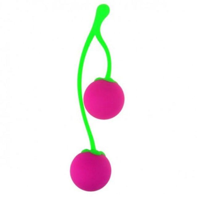 Silicone Female Smart Ball Cherry Kegel Ball Vaginal Tight Exercise Smart Shrink Vagina Balls Sex Toys For Women Masturbation