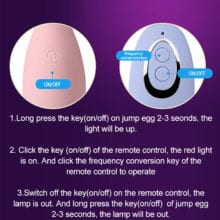 Remote Control Silicone Vagina Balls For Women