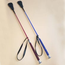 67cm Straight Leather Handle Flogger For Punishment