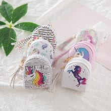 1Pc Fashion Cartoon Cute Unicorn Children's Purse Key Pack Unicorn Party Birthday Party Decorations Kids Baby Shower Gifts.Q