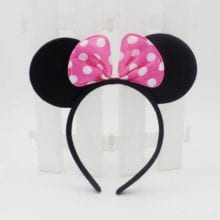 Minnie And Mickey Mouse Hair Band For Kids Birthday Decal