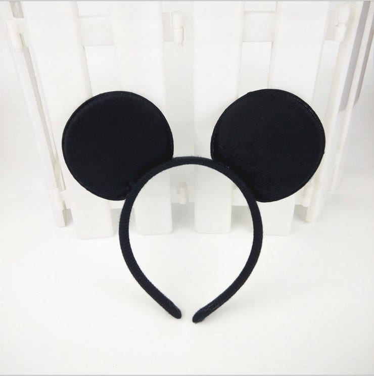Minnie Mouse And Mickey Mouse Party Supplies Headband/Hair Band Kids Birthday Decorations Baby Shower Costume Head Band
