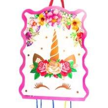 1 Set Pink Unicorn Theme For Birthday Party