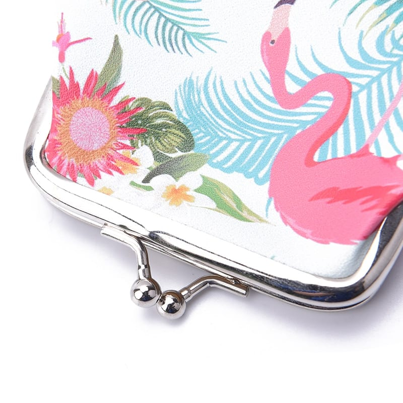 1PCS 1Pc Flamingo Simple Cute Small Coin Purse Cartoon Coin Birthday Party Decorations Kids Happy Birthday Baby Shower