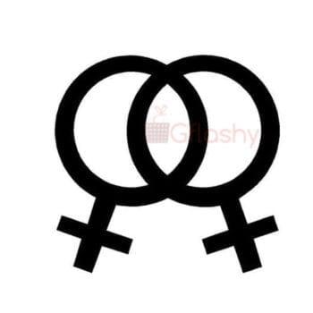 Gay Pride Bumper Sticker Symbols