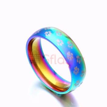 Rainbow Engagement Rings   Rainbow Wedding Rings