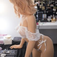 Silicone sex doll with realistic features and free shipping