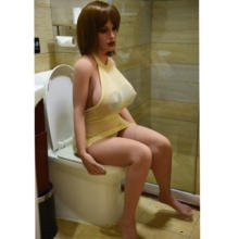 Realistic breast sex doll with big silicone ass 150cm