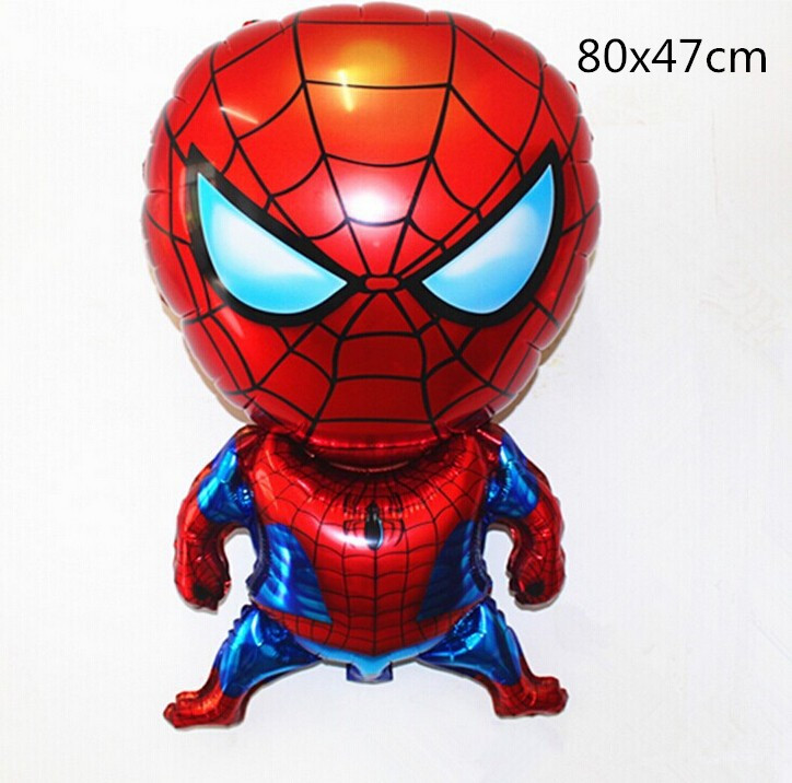 1 PC Inflatable Foil Spider-Man Balloon For Kids Party