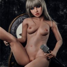 Sexy silicone sex doll with lovely face and body 150 cm
