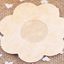 50pcs Soft Female Mamilla Disposable Flower Petals Sheath