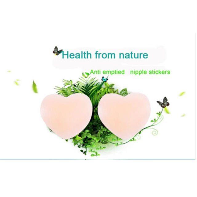 Siloxane Adhesive Nipple Cover Pasties Pad For Ladies