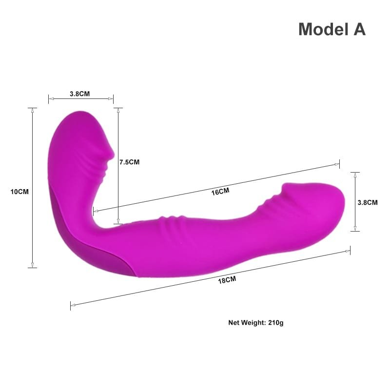 Best Strapless Strap On With Vibrator