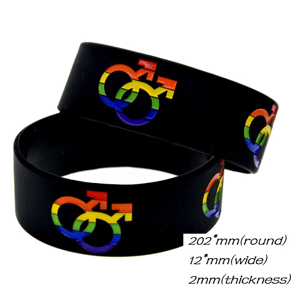 Gay Silicone Bracelet | Fashionable Bracelet