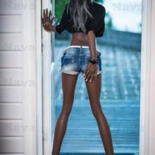 Buy Black Sex Dolls Made Of Top Quality TPE Silicone 168cm