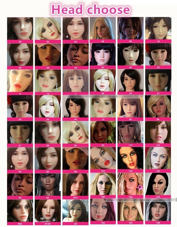 head options for love doll