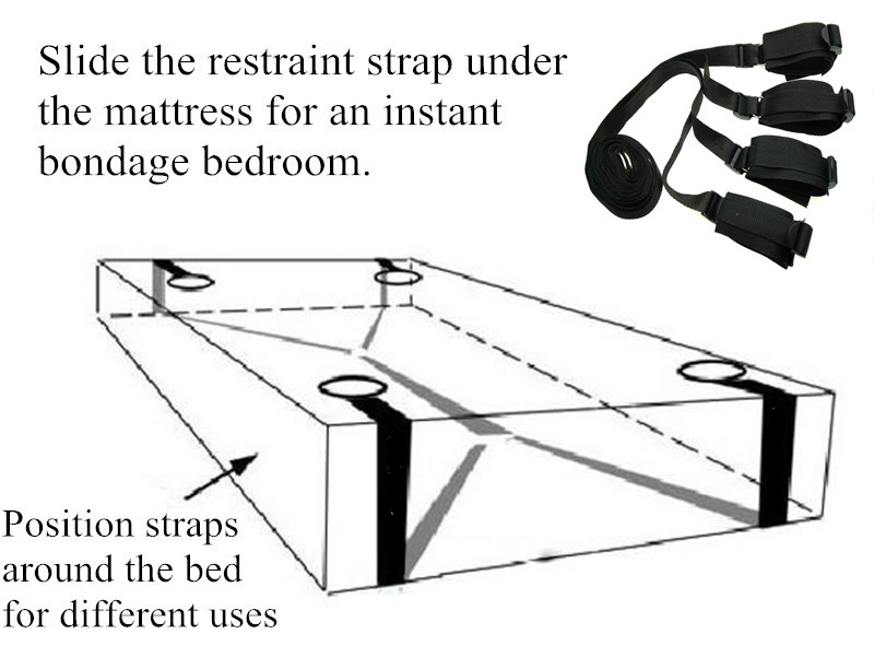 Sex Bed Straps   Bed Binding Restraints