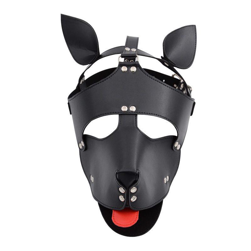 Leather Half Mask   British Bondage