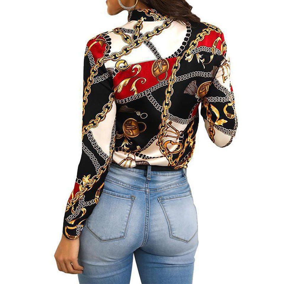 Homophony New Fashion Slim Women Blouse