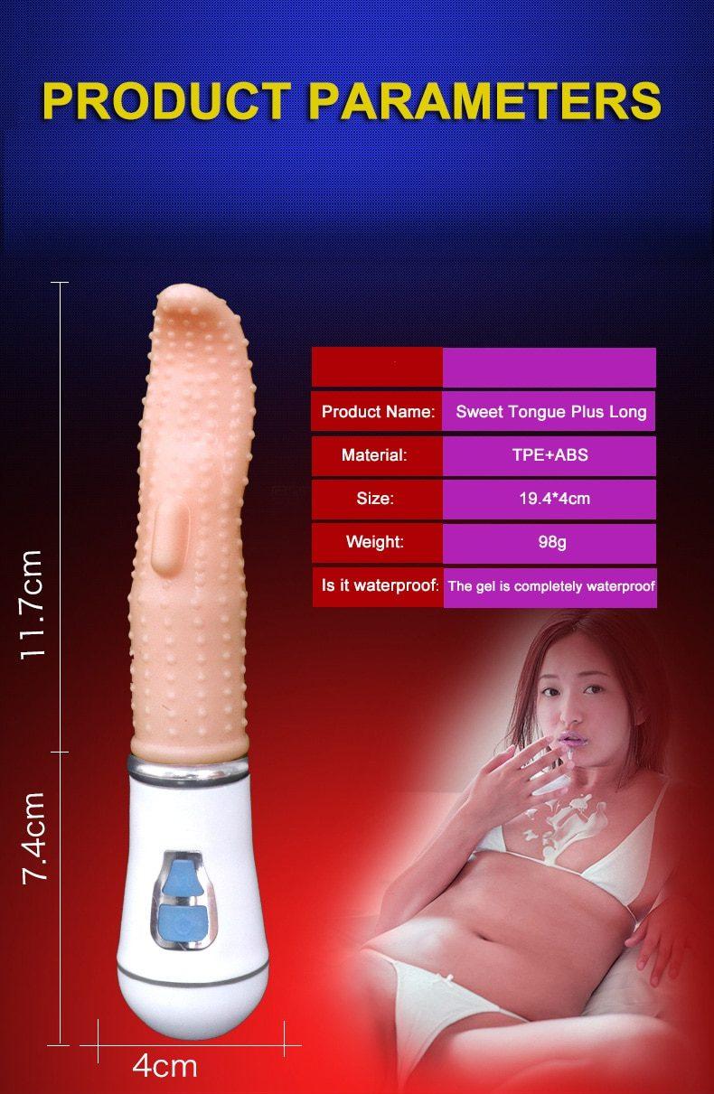 Tongue Vibrators | Clitoral Massager