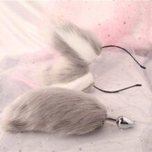 Rabbit Tail Butt Plug | Flower Butt Plug