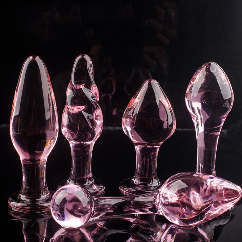 Glass Butt Plugs | Crystal Butt Plug
