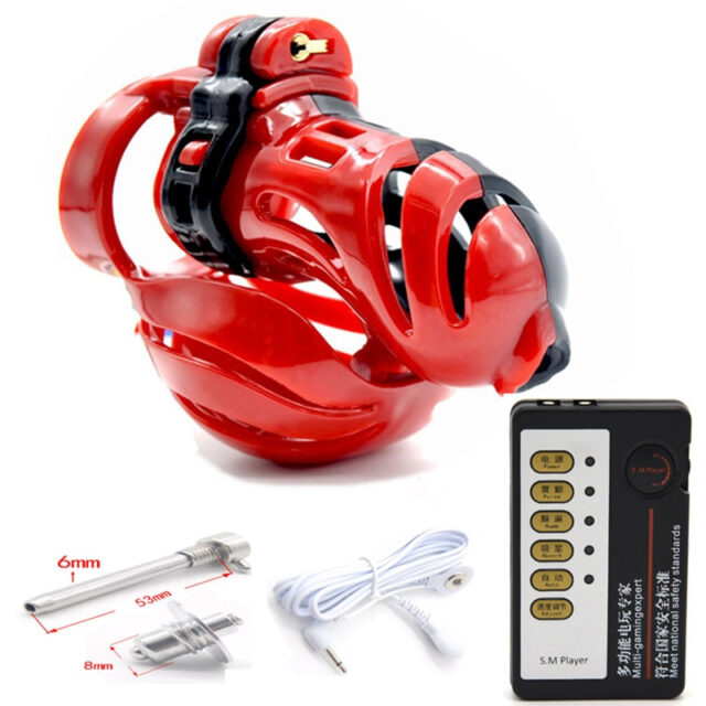 Electro Chastity With Remote Control