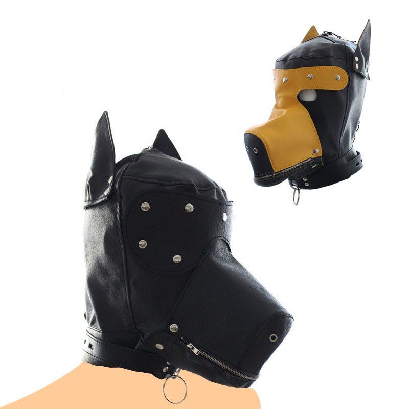 BDSM Mask | Dog Hood Bondage