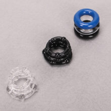Silicone Cock Rings | Scrotum Rings | 3 Pcs